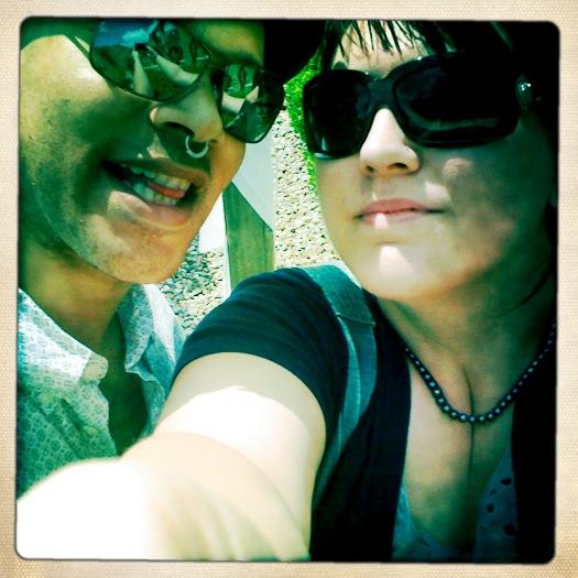 selfie of Hassan & Jennida